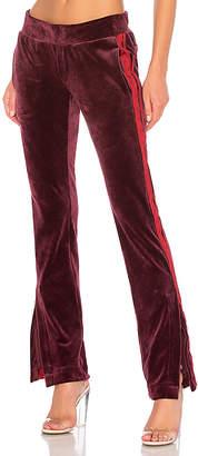 Pam & Gela x REVOLVE Metallic Stripe Velour Track Pant