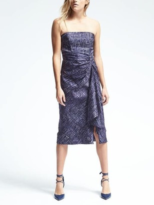 Piece & Co. Strapless Twist-Front Midi Dress $228 thestylecure.com
