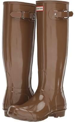 Hunter Tall Gloss Rain Boots Women's Rain Boots