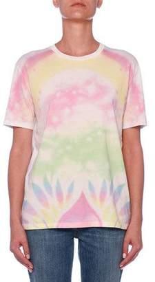 Stella McCartney Heart Back Tie-Dye T-Shirt