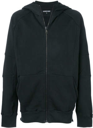 Alexandre Plokhov hooded zip sweatshirt
