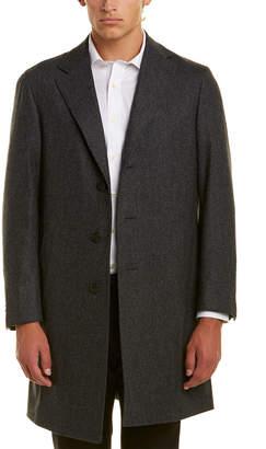 Canali Kei Wool Overcoat