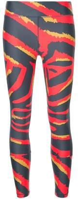The Upside tiger stripes leggings