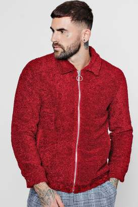 boohoo Borg Harrington Jacket