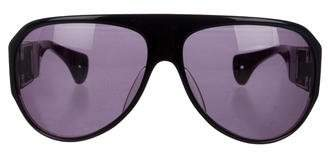 Chrome Hearts Erected Sterling Silver Sunglasses