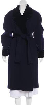 Gianfranco Ferre Long Wool Coat