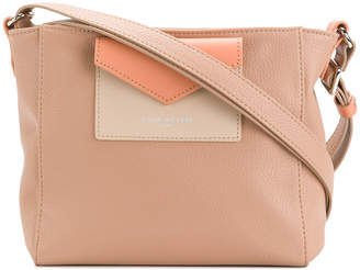 Lancaster colour block shoulder bag