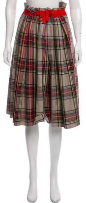 Sofie D'hoore Plaid Knee-Length Skirt