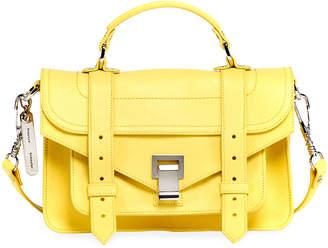 Proenza Schouler PS1 Tiny Lux Leather Satchel Bag
