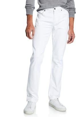 7 For All Mankind Men's Slimmy Cast Iron Jeans