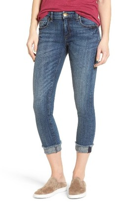 Women's Kut From The Kloth Amy Stretch Crop Skinny Jeans $89 thestylecure.com