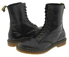 Dr. Martens - 1490 (Black Smooth) - Footwear