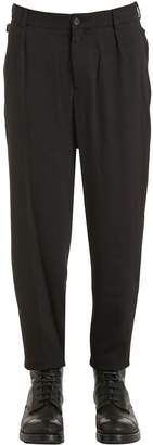 Damir Doma 17cm Virgin Wool Crepe Pants