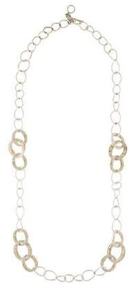 Judith Ripka Two-Tone Jubilee Chain-Link Necklace