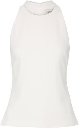 Cushnie et Ochs - Cutout Stretch-crepe Top - White $775 thestylecure.com