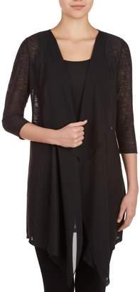 NYGÅRD SLIMS Nygard Women's Petite Slims 3/4 Sleeves Duster