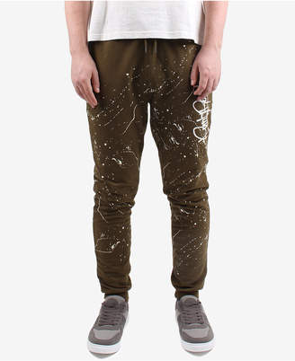 Punk Royal Men's Paint-Splatter Jogger Pants