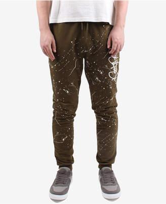 Punk Royal Men Paint-Splatter Jogger Pants
