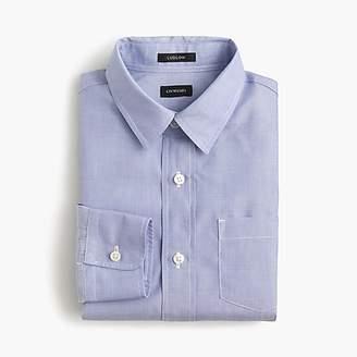 J.Crew Boys' point-collar solid Ludlow shirt