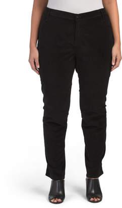 Plus Made In Usa Skinny Velveteen Jeans