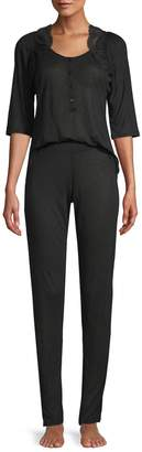 La Perla Women's Top & Pants Pajama Set
