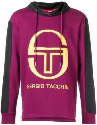 Sergio Tacchini logo hoodie