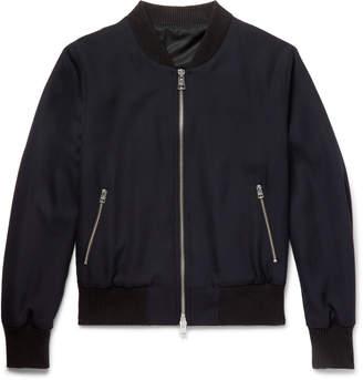 Ami Wool Bomber Jacket