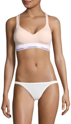 Calvin Klein Underwear Modern Cotton Padded Bralette