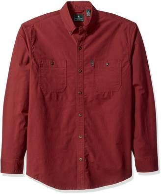 G.H. Bass & Co.. Men's Hudson Peak Twill Long Sleeve Shirt