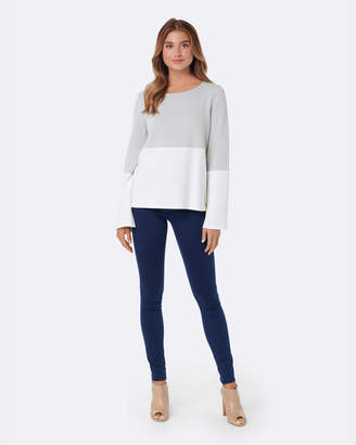 Forever New Rowena Colour Block Jumper