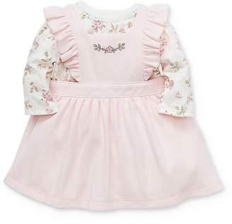Little Me Girls' Ivy Rose Jumper & Bodysuit Set - Baby