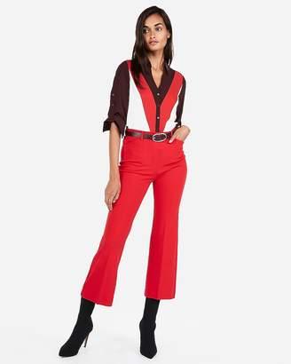 Express Slim Color Block Portofino Shirt