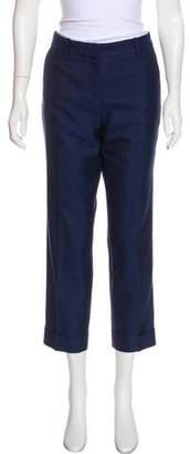 Barbara Bui Mid-Rise Cropped Pants