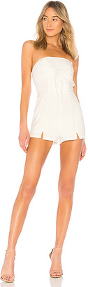 by the way. Suzy Tie Front Romper