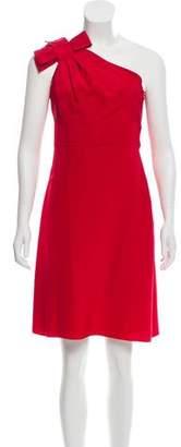 Valentino One-Shoulder Mini Dress w/ Tags