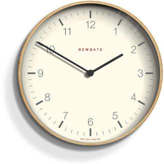 Newgate Mr. Clarke Wall Clock - Pale Wood