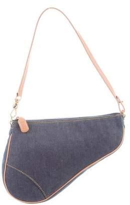 28925317cb319 Christian Dior Blue Handbags - ShopStyle