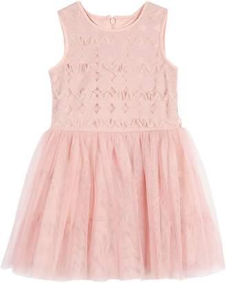 Pastourelle Little Girl's Soutache Tutu Dress