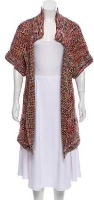 Chanel Wool Longline Cardigan