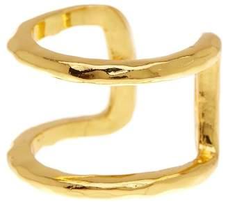 Gorjana Teagan Hammered Cuff Ring - Size 8