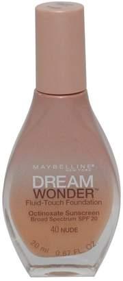 Maybelline 3 Pack Dream Wonder Fluid-Touch Foundation