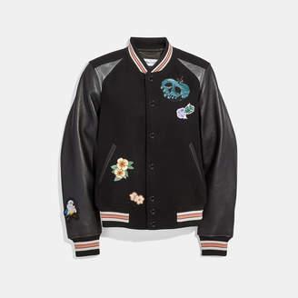 Coach Disney X Varsity Jacket