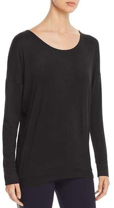 Andrew Marc Back-Cutout Top