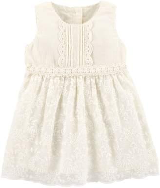 Osh Kosh Oshkosh Bgosh Baby Girl Lace Dress