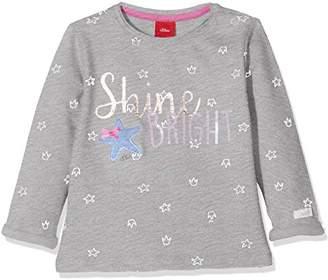 S'Oliver Baby Girls' 65.802.41.4694 Sweatshirt