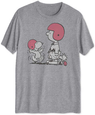 Hybrid Peanuts Players Men Graphic T-Shirt