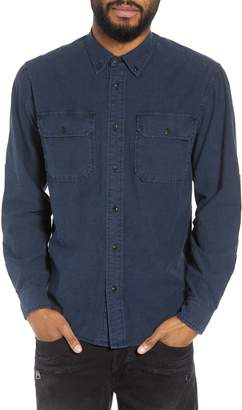 Hudson Jeans Regular Fit Chambray Sport Shirt