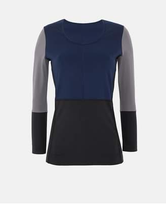 adidas by Stella McCartney Blue Yoga Long Sleeve Shirt
