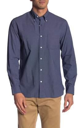 Brooks Brothers Micro Print Regent Fit Sport Shirt