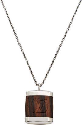 Louis Vuitton Wood Pendant If Bois Necklace
